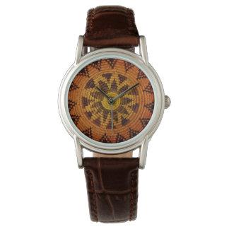 Relógio Cesta do indiano de Havasupai