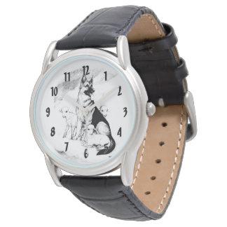 Relógio Céu do cão, o rebanho do mestre