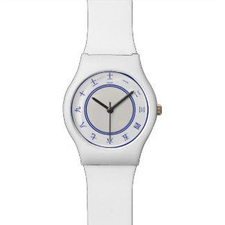 Relógio chinês do número