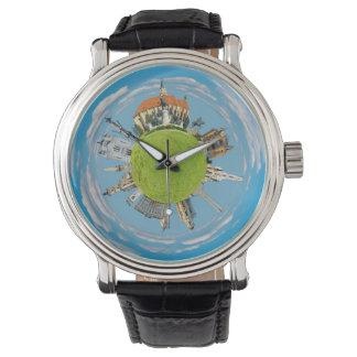 Relógio cidade romania do napoca de cluj pouco marco AR do