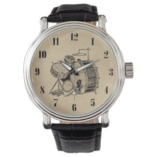 Relógio Cilindros do jogo do cilindro do vintage