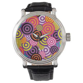 Relógio Círculos concêntricos #2