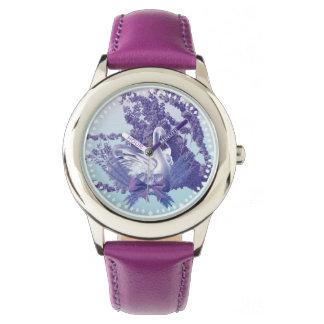 Relógio cisne místico