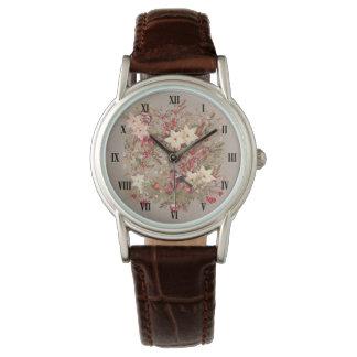 Relógio clássico da colagem do Natal