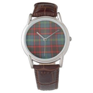 Relógio clássico do Tartan Home