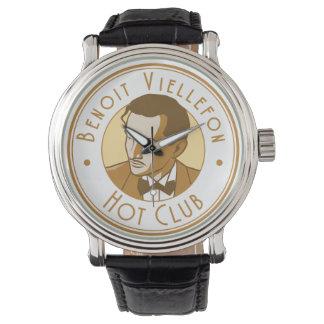 Relógio - clube quente de Benoit (logotipo