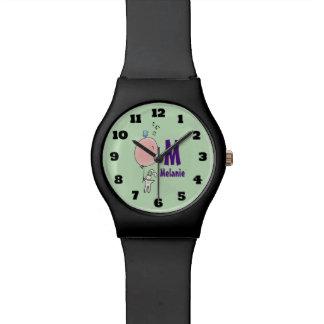 Relógio Coelho de flutuação que guardara um monograma do