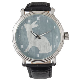 Relógio Coelho rústico