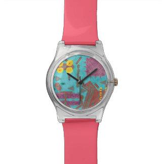 Relógio colorido do conselho de circuito May28th
