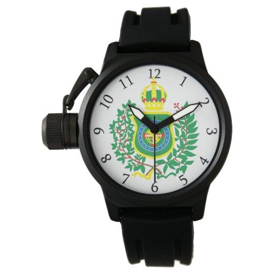 Relógio com Brasão da Bandeira Imperial
