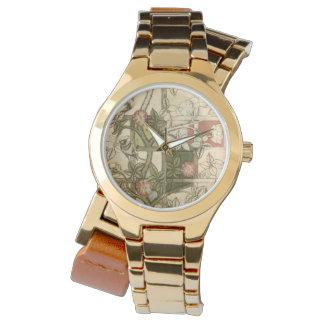 Relógio com design da treliça