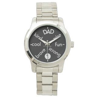 Relógio Comemore o pai
