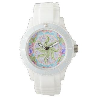 Relógio Como o primavera floresce, Kawaii, primavera,