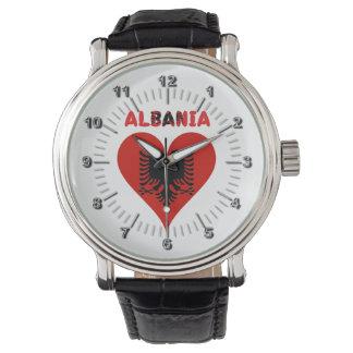 Relógio Coração albanês