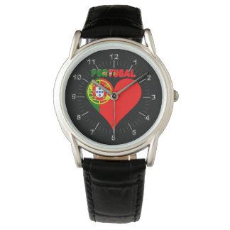 Relógio Coração português