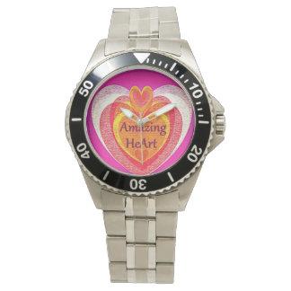 Relógio Coração surpreendente