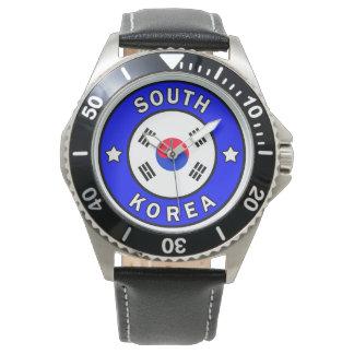 Relógio Coreia do Sul