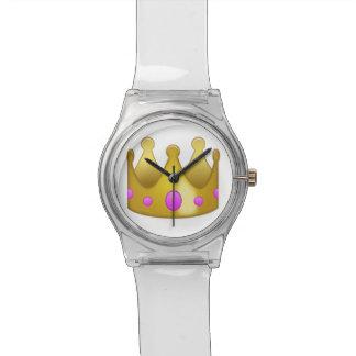 Relógio Coroa Emoji