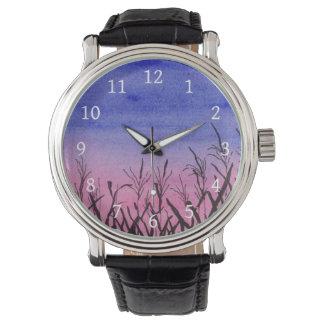 Relógio crepuscular do campo de milho