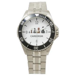 Relógio Customizável engraçado do Careerism