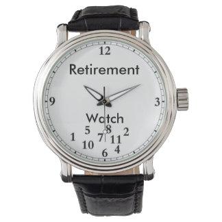 Relógio da aposentadoria