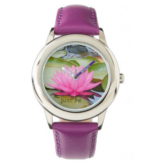 Relógio da arte de Lotus…
