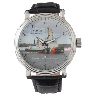 Relógio da baía de WTGB 104 Biscyne