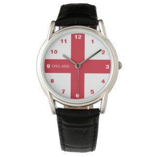 Relógio da bandeira de Inglaterra