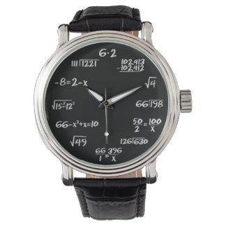 Relógio da matemática