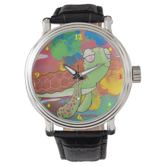 Relógio da tartaruga de mar