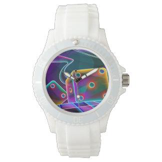 Relógio Dados flashy 3D