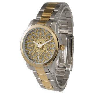 Relógio Das mulheres coloridas do vintage do metal