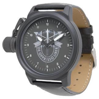 Relógio de De Oppresso Liber das forças especiais