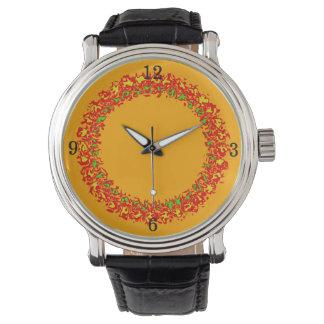 Relógio de homem laranja Fire