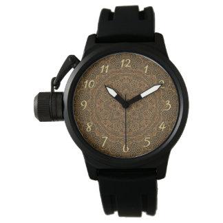 Relógio de homens feito sob encomenda do vintage