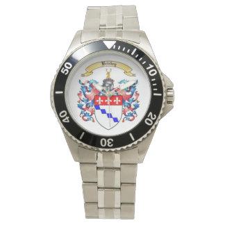Relógio de homens inoxidável da crista da família