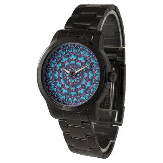 Relógio de homens   roxo do vintage do gaiteiro