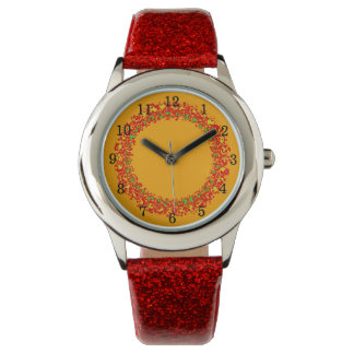 Relógio de menino laranja Fire