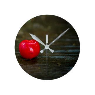 Relógio de parede de fruta