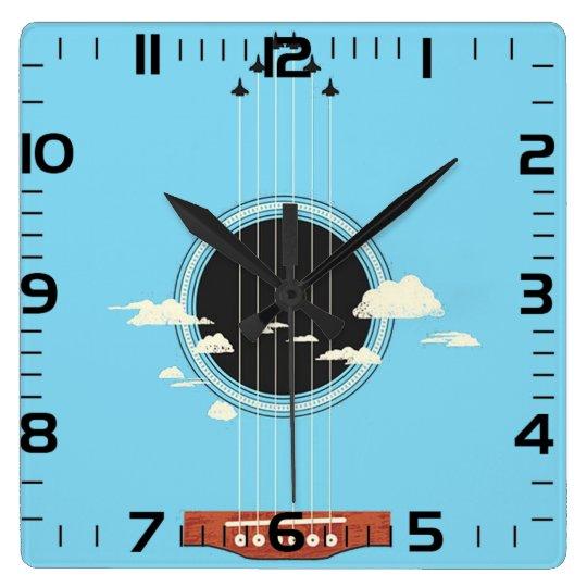 """Relógio de parede """"Violão"""""""