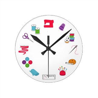 Relógio de ponto Sewing