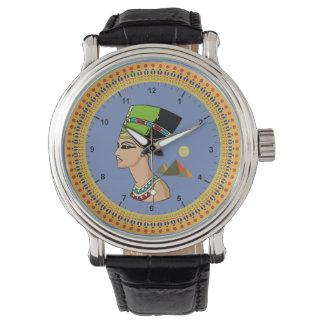 Relógio De Pulso نفرتيتى de Egipto Nefertiti