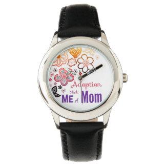 Relógio De Pulso A adopção fez-me uma mamã