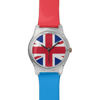 Relogio De Pulso A bandeira do Reino Unido