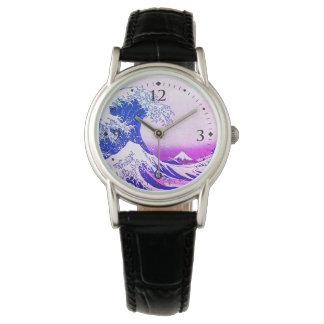 Relógio De Pulso A grande onda fora de Kanagawa
