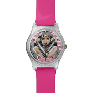 Relógio De Pulso A mulher maravilha defende - o modelo