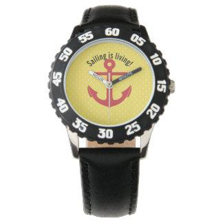 Relógio De Pulso A navigação está vivendo!