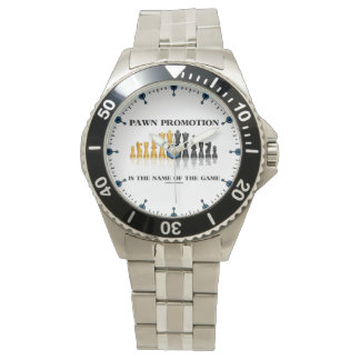 Relógio De Pulso A promoção do penhor é o nome do humor da xadrez