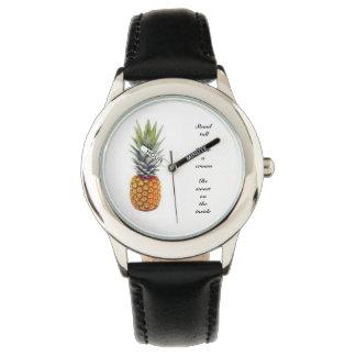 Relógio De Pulso Abacaxi