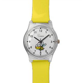 Relógio De Pulso abelha dos desenhos animados